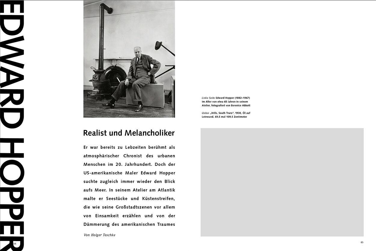 Edward Hopper – Realist und Melancholiker
