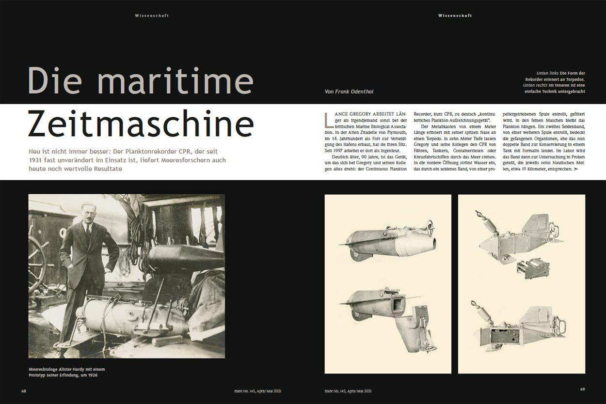 Die maritime Zeitmaschine