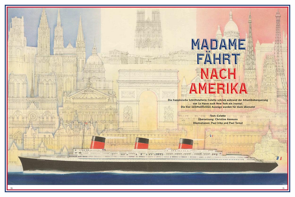 Madame fährt nach Amerika