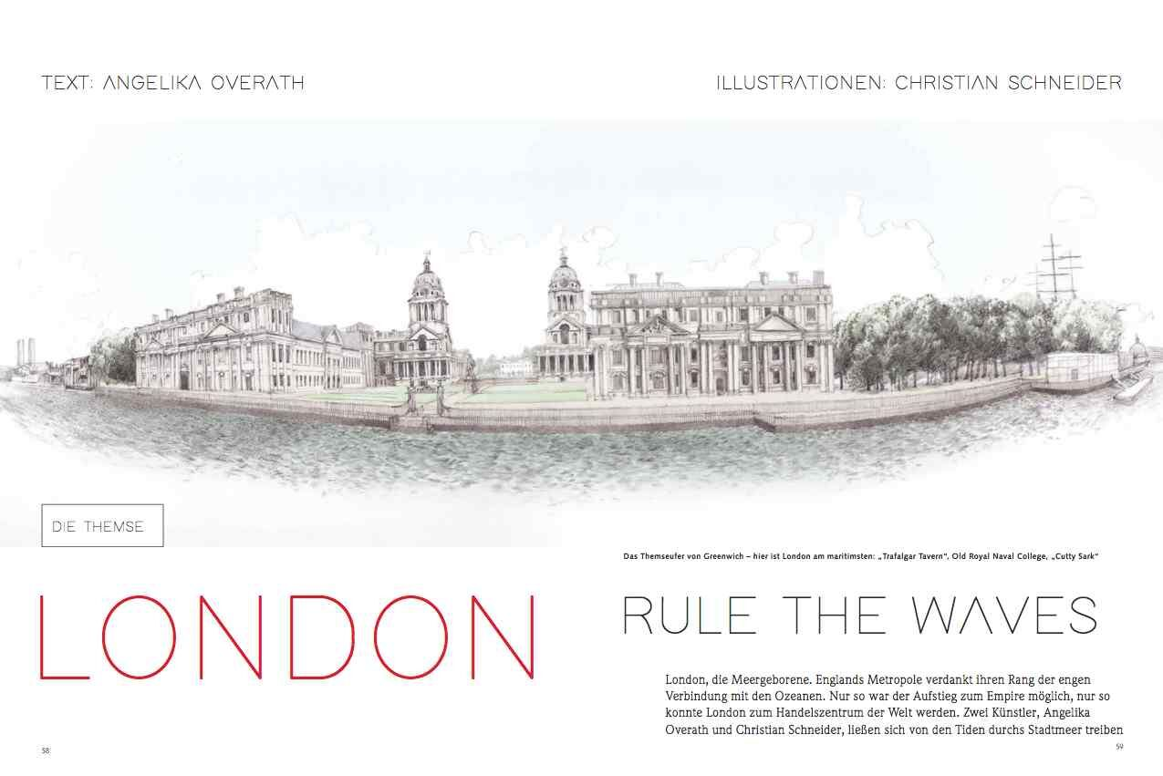 London, rule the waves