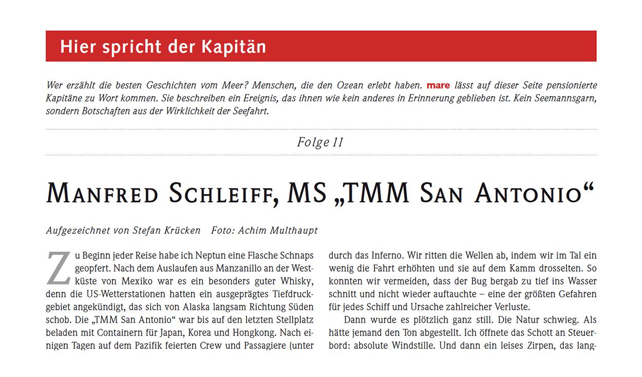 """Mannfred Schleiff, MS """"TMM San Antonio"""""""