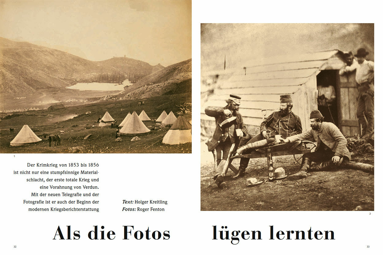 Als die Fotos lügen lernten