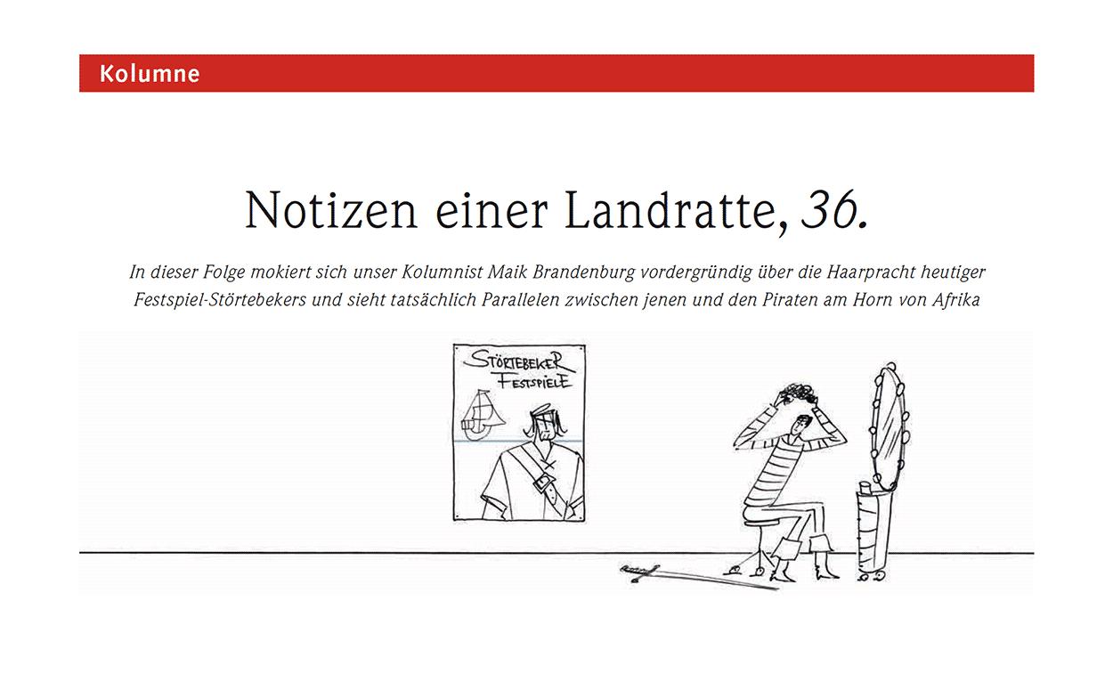 Notizen einer Landratte, 36.