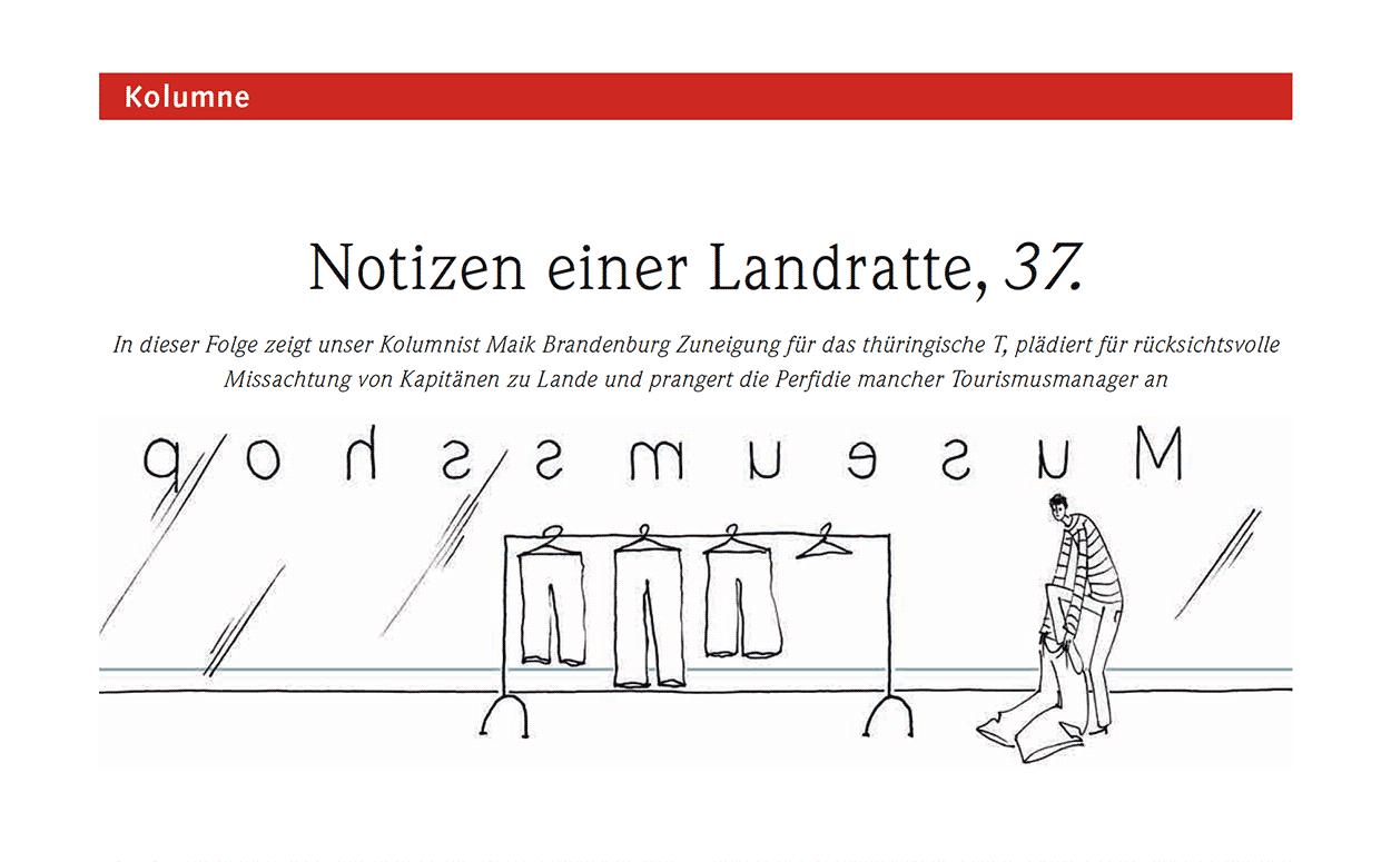 Notizen einer Landratte, 37.
