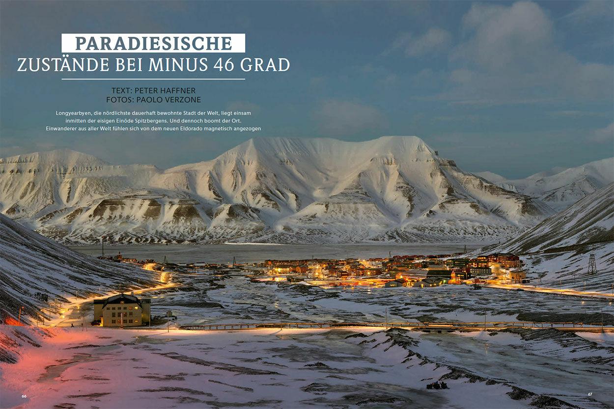 Paradiesische Zustände bei minus 46 Grad