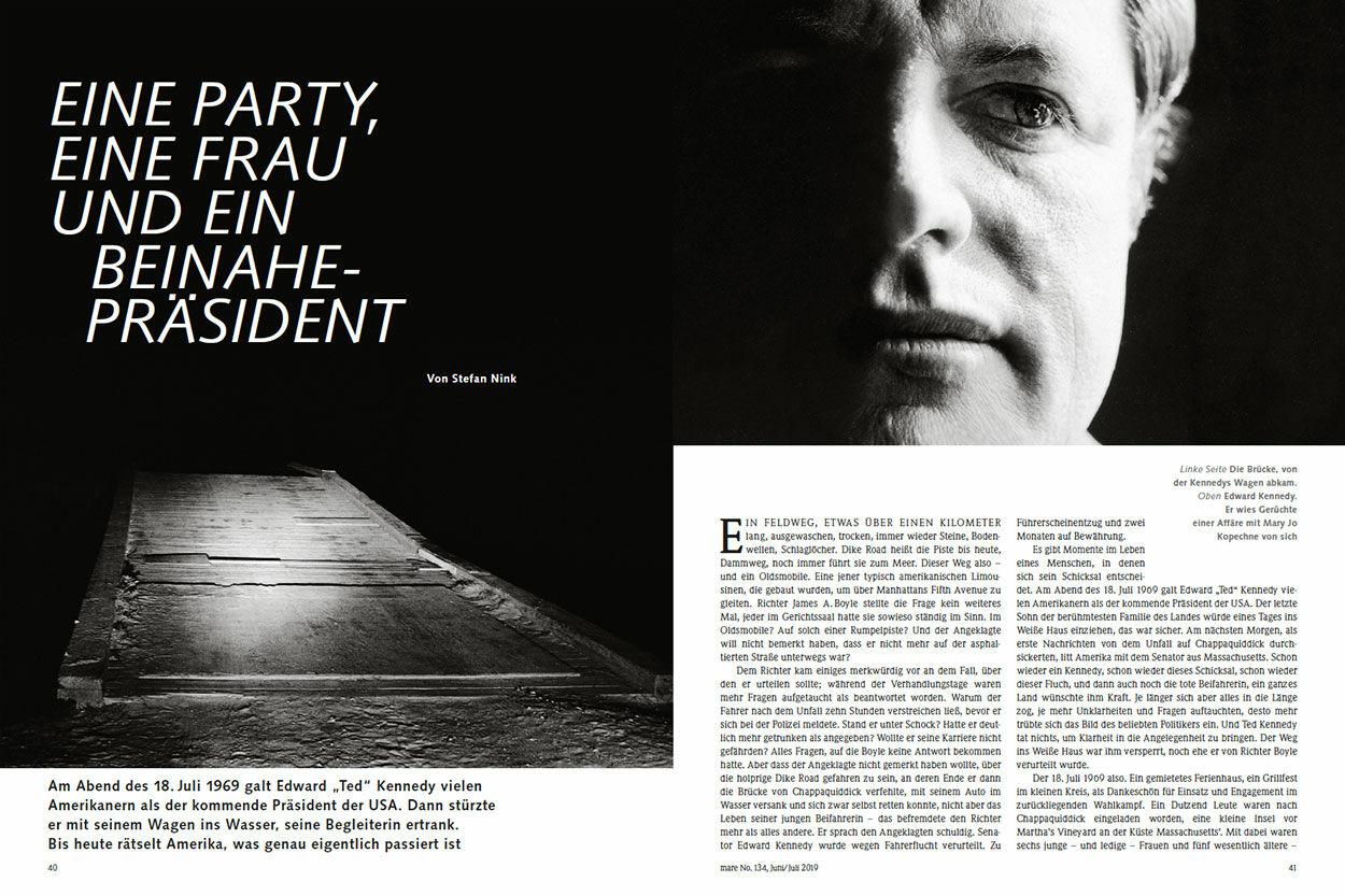Eine Party, eine Frau und ein Beinahe-Präsident