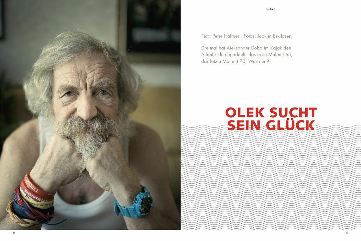 Olek sucht sein Glück