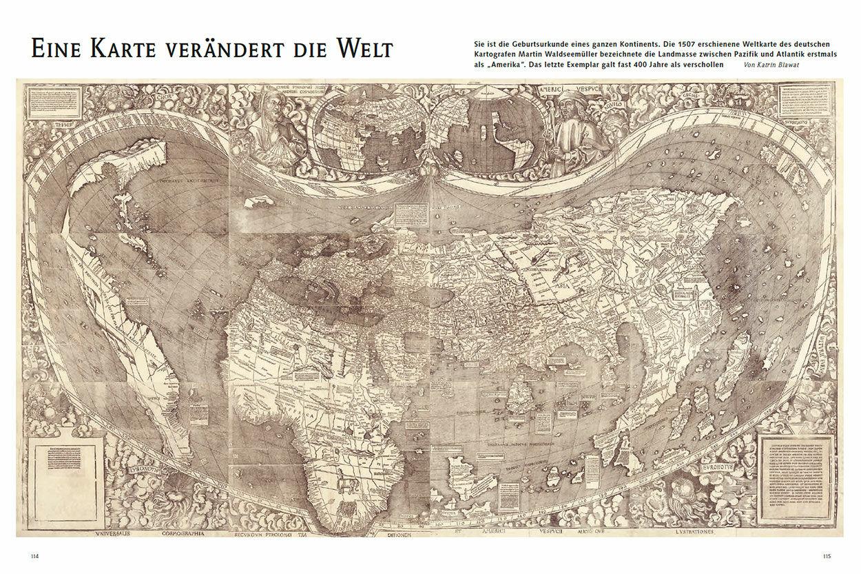 Eine Karte verändert die Welt